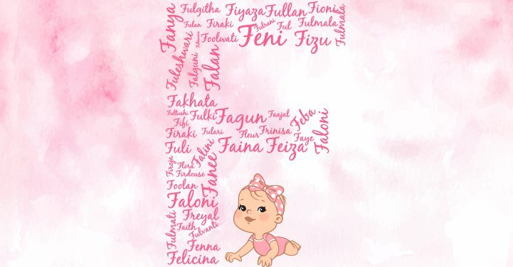 Baby Girl Names Starting With F
