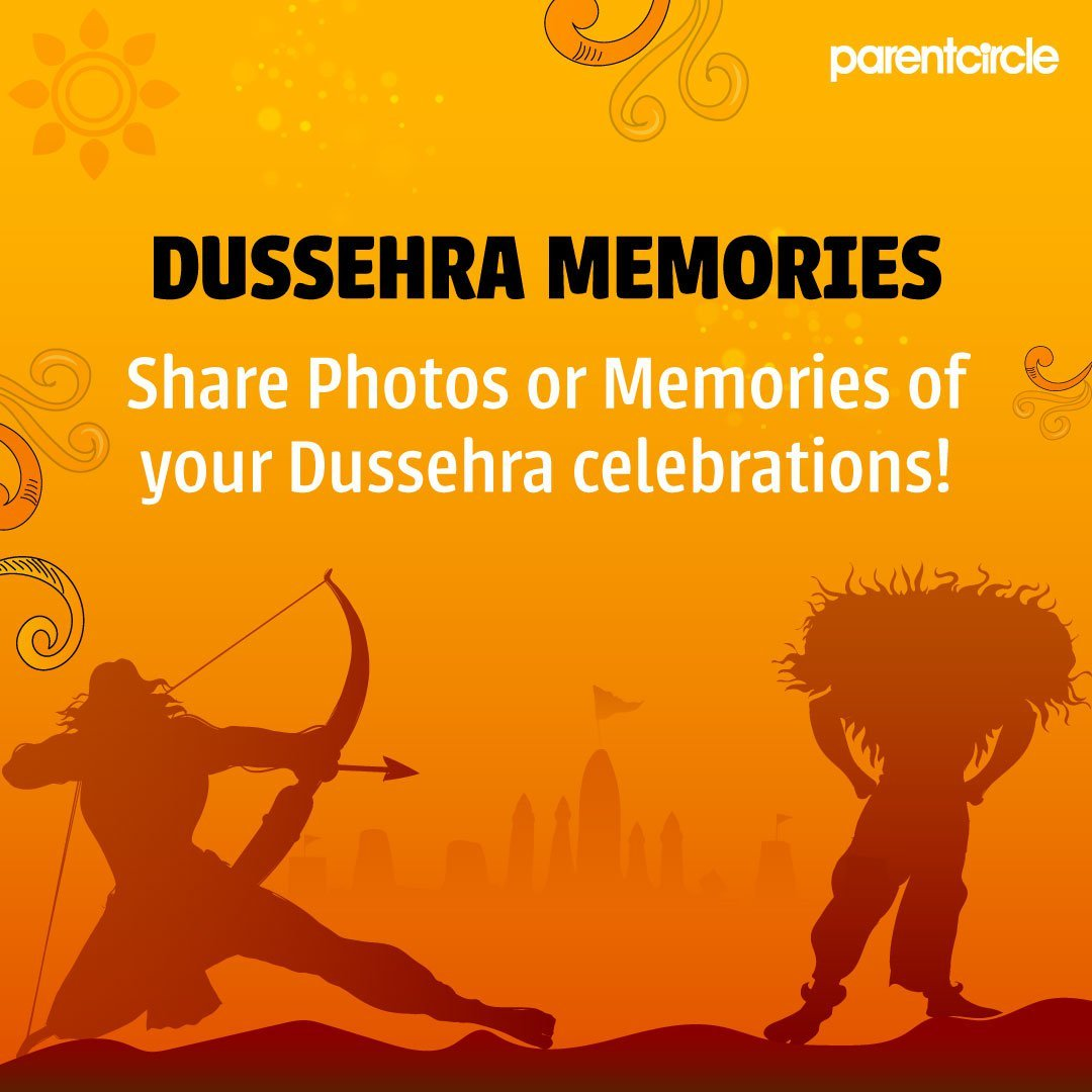 Share photos or memories of your Dussehra celebrations!