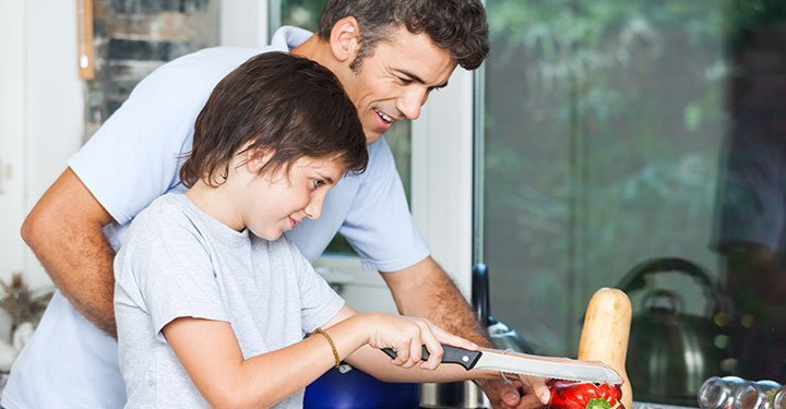 Nutrition With A Side-Serving Of Life-Skills: Benefits Of Involving Children In Meal Planning