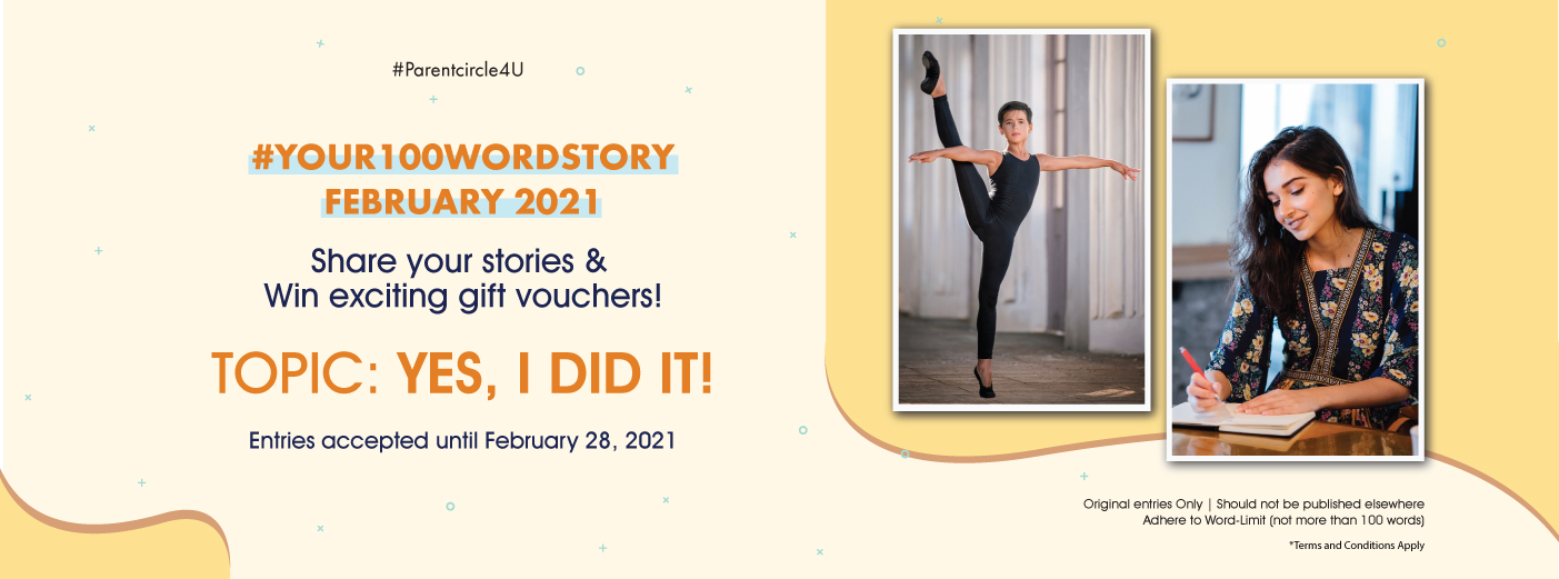 #YOUR100WORDSTORY: February 2021   YES, I did it!
