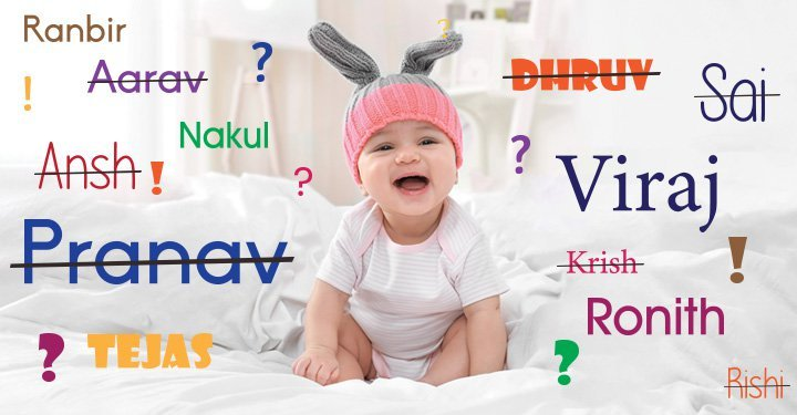 20 Indian baby boy names you won't regret in 20 years!