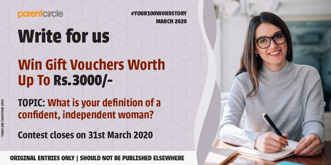 #YOUR100WORDSTORY: March 2020 | Women's Day Special