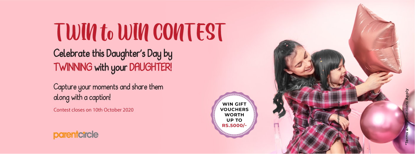 'TWIN to WIN' - Daughter's Day special contest - LIVE NOW!