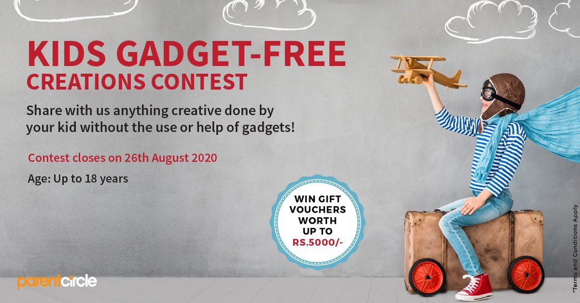 CONTEST ALERT: KIDS GADGET-FREE CREATIONS CONTEST