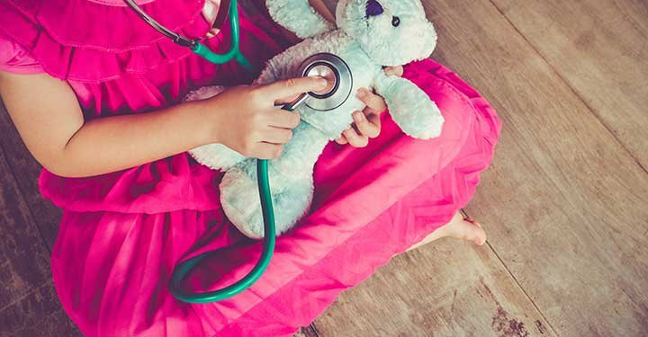 Is coronavirus a part of your children's play? Don't be alarmed, it can actually help them cope