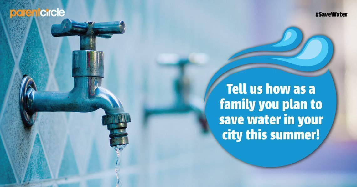 Share with us how you are planning to manage and save water in your City!