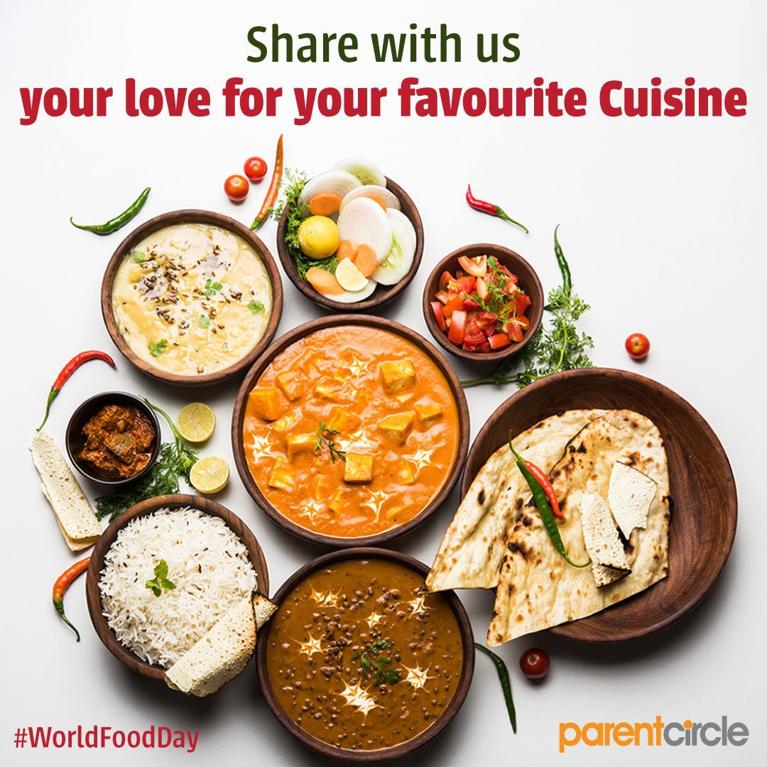 #WorldFoodDay - Share with us your love for your favourite Cuisine!