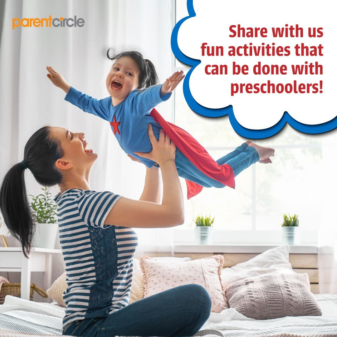 Share with us fun activities that can be done with preschoolers!
