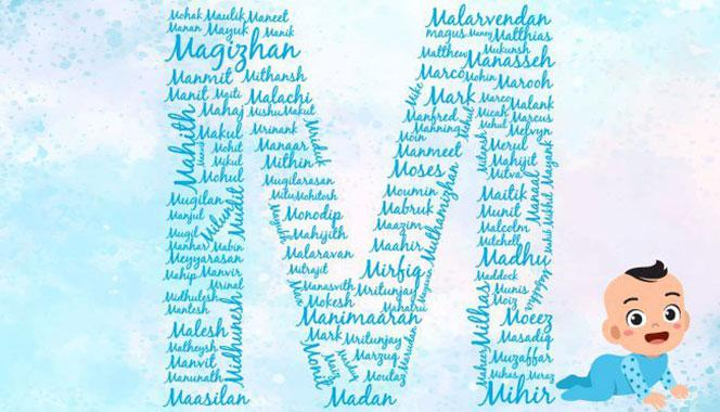 Baby boy names starting with M