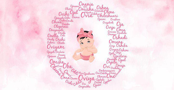 Baby girl names starting with the letter O