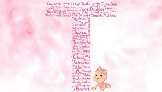 Baby girl names starting with the letter T