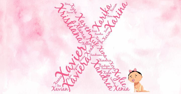 Baby Girl Names Starting With X