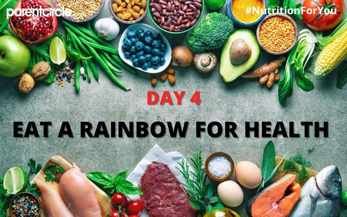 DAY 4 | Eat a Rainbow for Health | Nutrition Week 2020