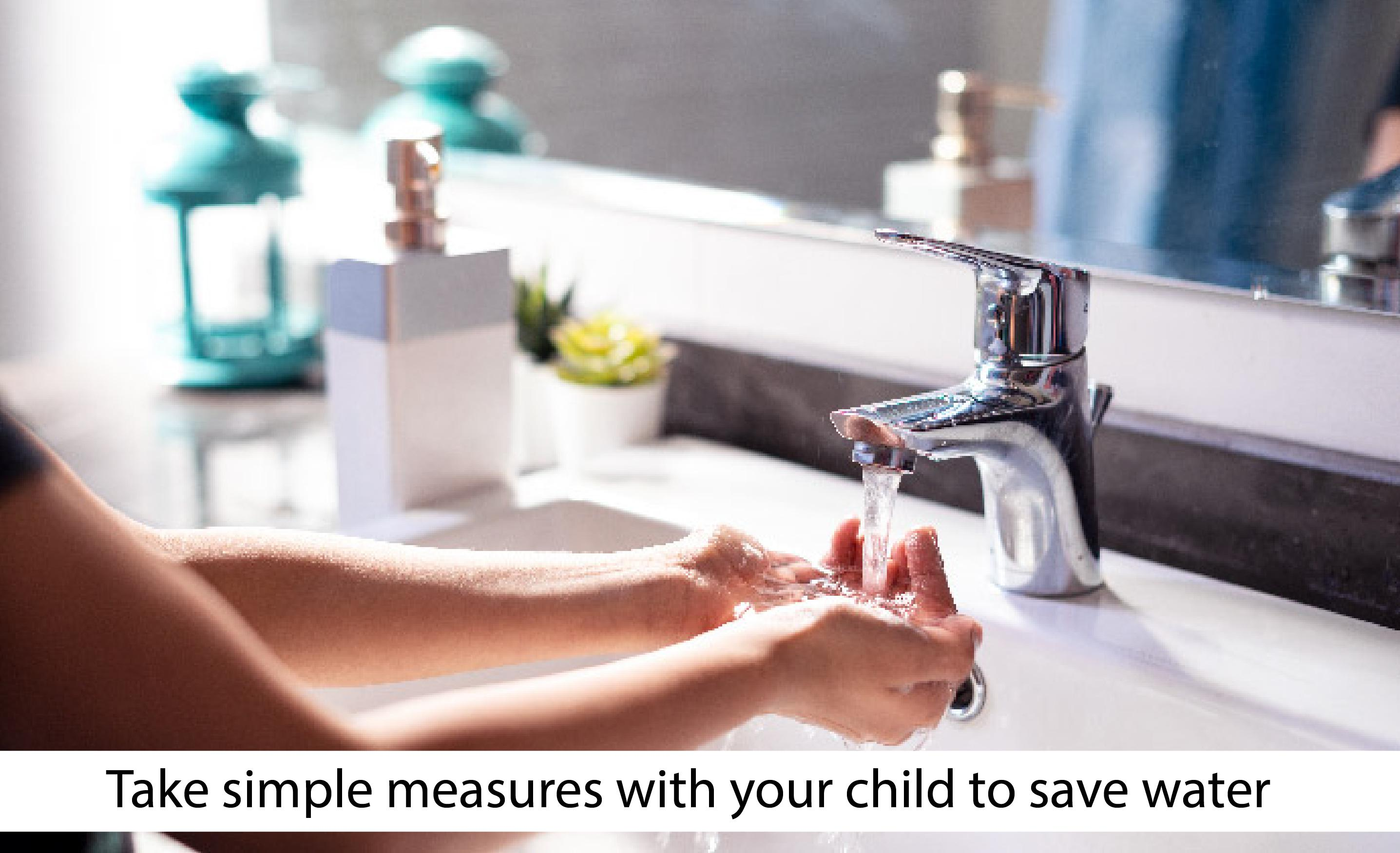 Conserving scarce water resources:  6 practical yet easy ways to teach children how to save water