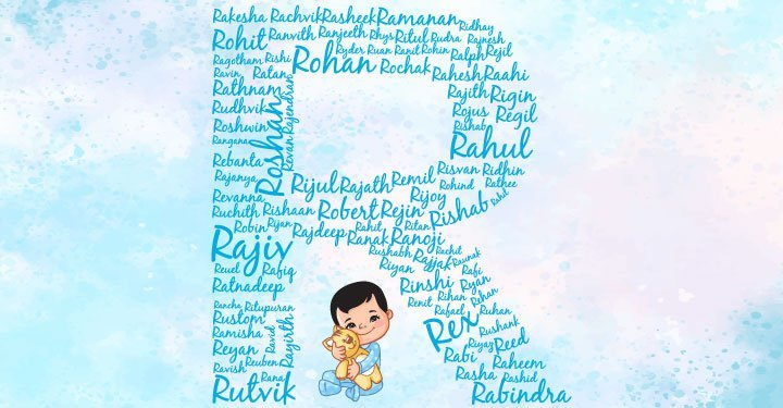 Baby Boy Names Starting With R