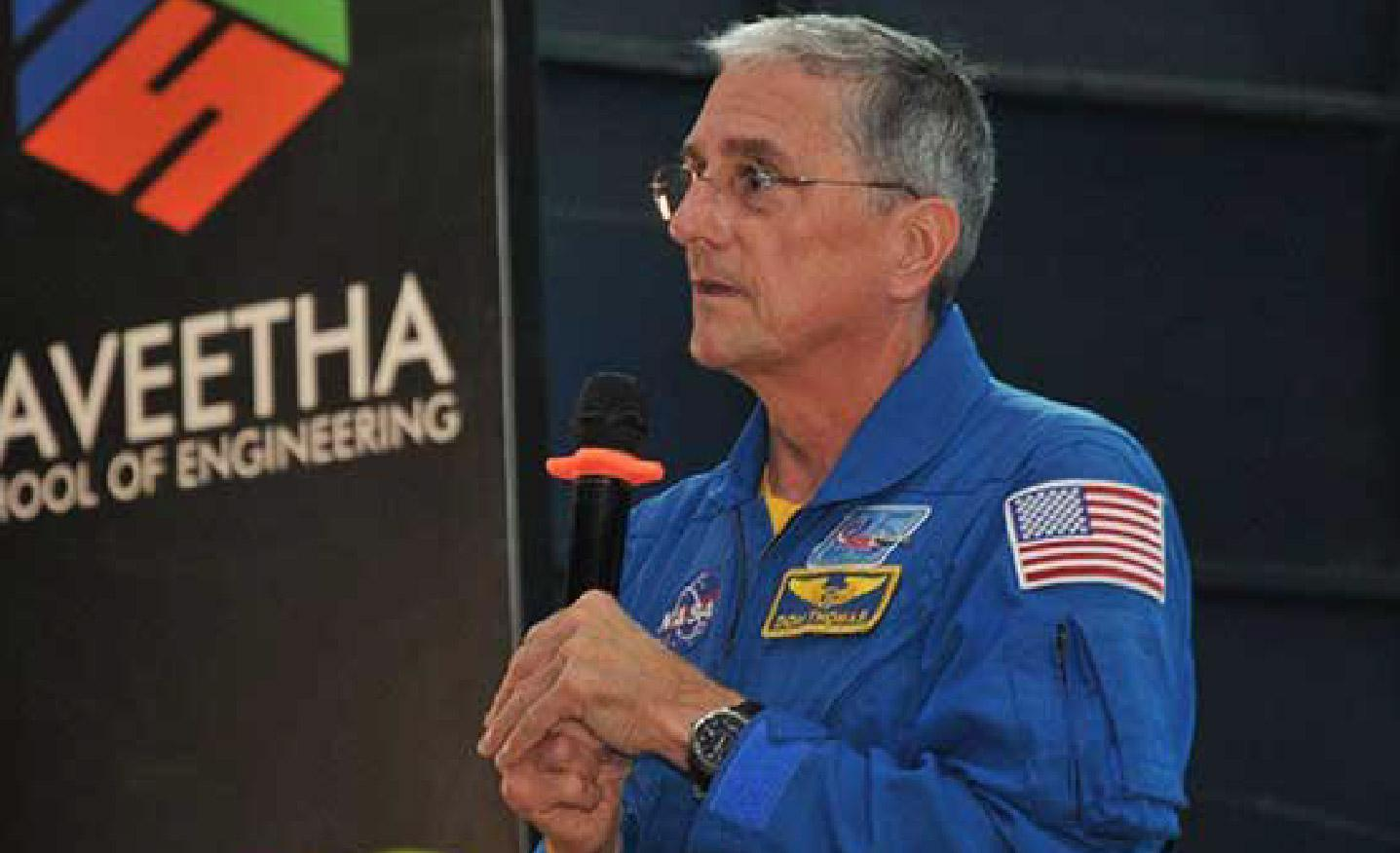 The number one lesson I have learnt in my life is to never give up: Donald Thomas talks about becoming a NASA astronaut