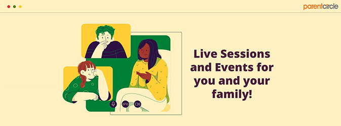 Live Sessions & Events for You and Your Family!