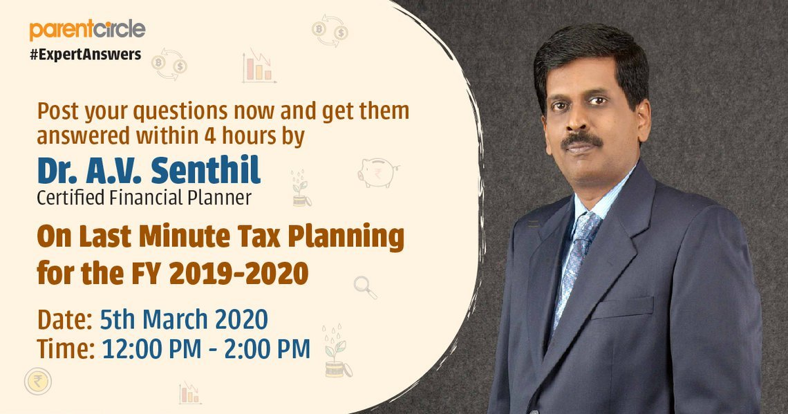 Expert Answers - Last Minute Tax Planning for FY 2019-2020