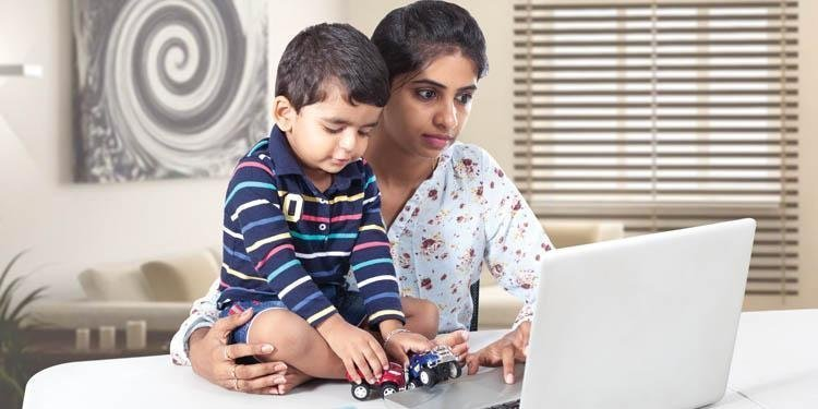 Working From Home As Mothers