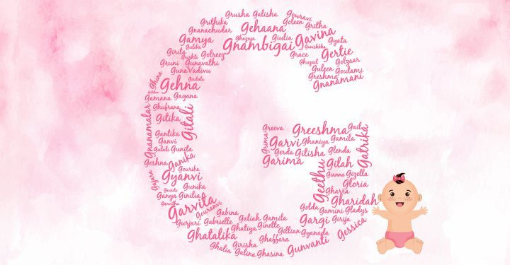 Baby Girl Names Starting With G