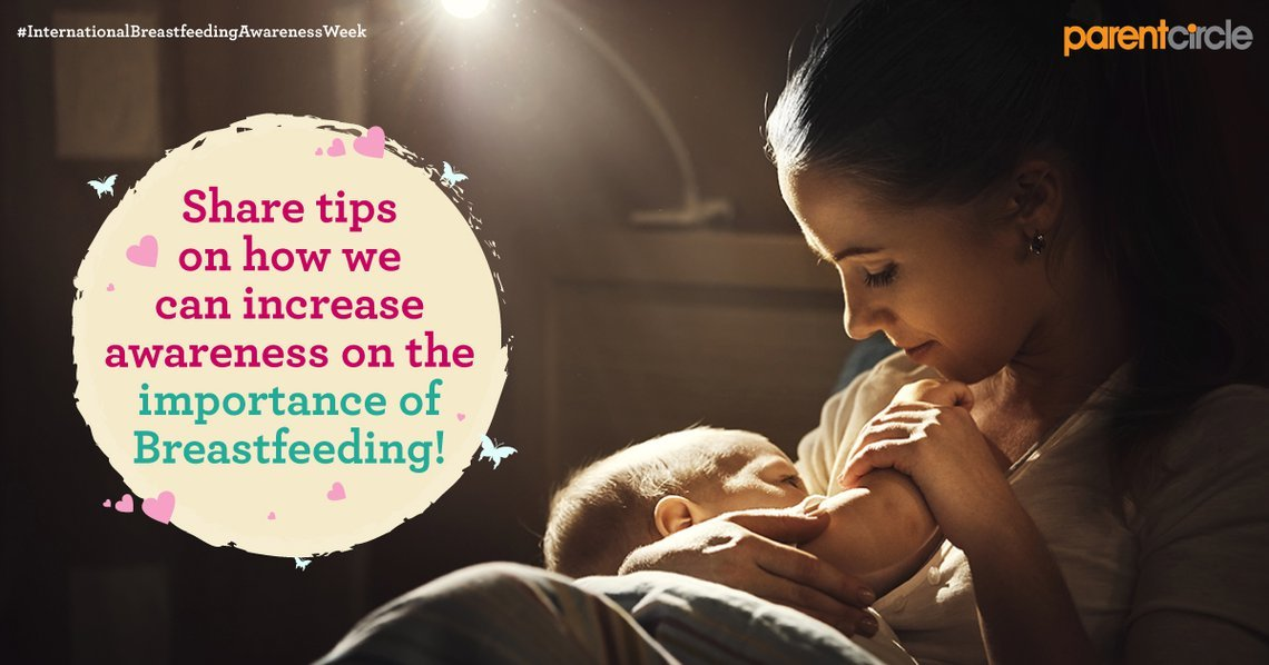 This International Breastfeeding Awareness Week, share how you can spread awareness!