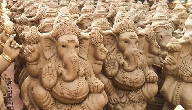 Five Eco-Friendly Ganesha Idols You Can Make at Home With Your Children