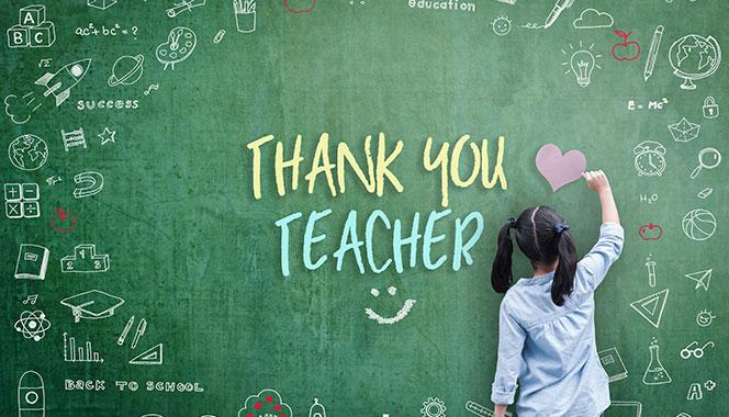Gratitude for teachers: Here are 7 simple gestures your child can perform to express gratitude towards her teacher