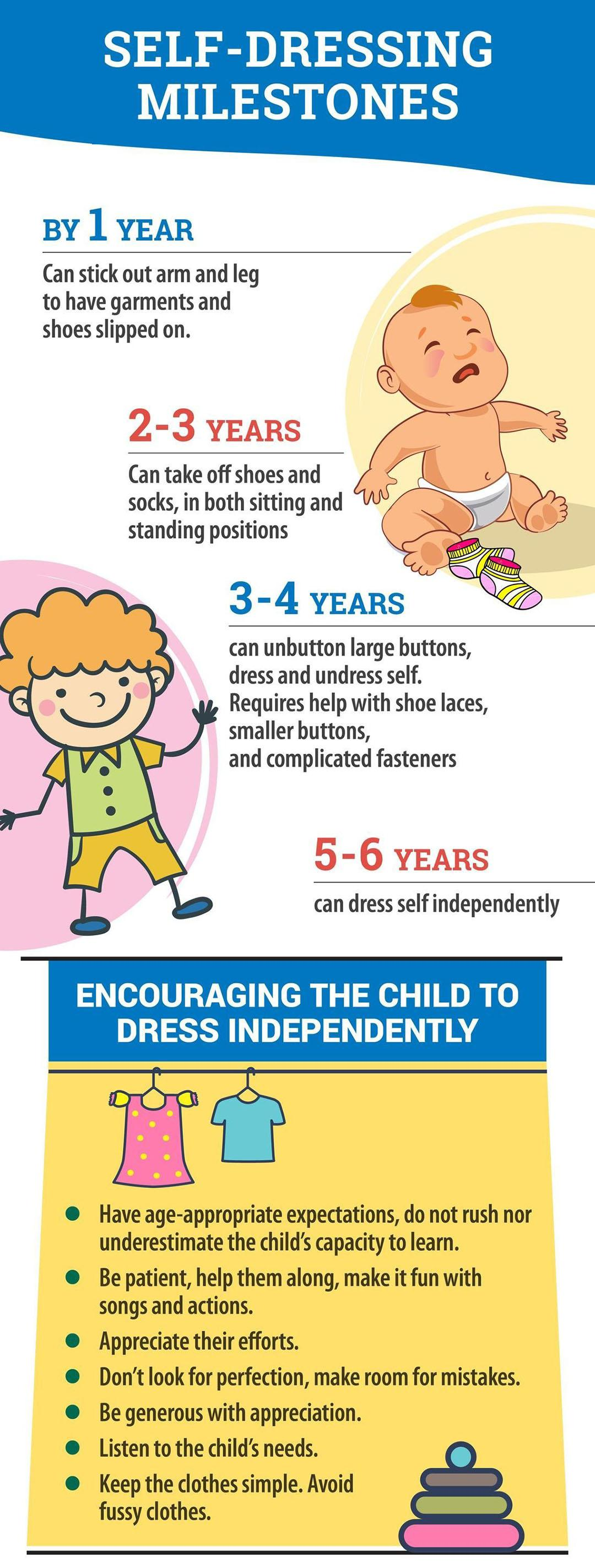 How to Teach Children to Dress by Themselves
