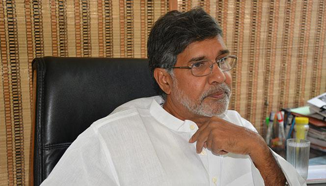 Meet Kailash Satyarthi, 2014 Nobel Peace Prize Winner