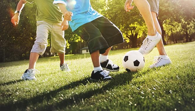 Has your child become lethargic lately? Get him involved in sports for a healthy mind and body