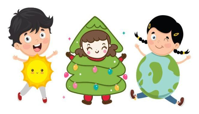 Looking for fancy dress ideas for your child? Try these nature-themed costumes