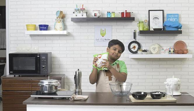 Meet Little Chef Kicha as he talks about his culinary journey, his YouTube channel and his road to stardom
