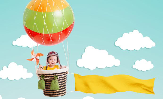 Planning a photoshoot for your baby? Try these 20 amazing baby photoshoot ideas at home