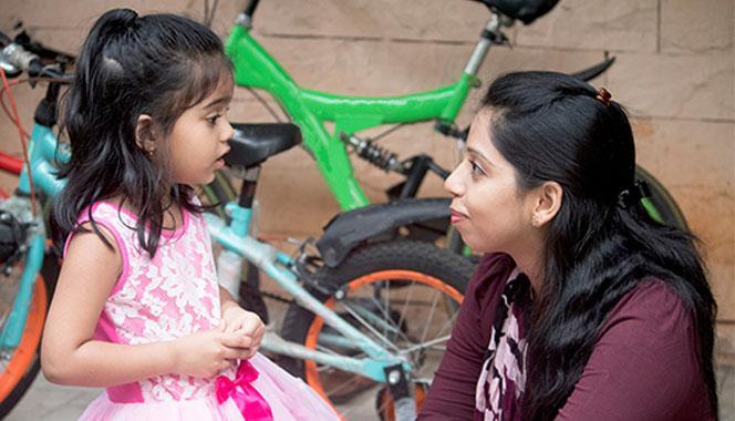 Positive Language helps build the Parent-Child Relationship