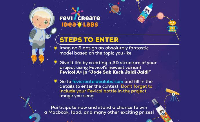 Science contest for children by Fevicreate Idealabs
