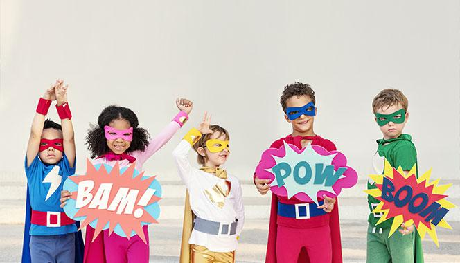 Transform your kids into the superheroes they wish to be with these DIY costume ideas